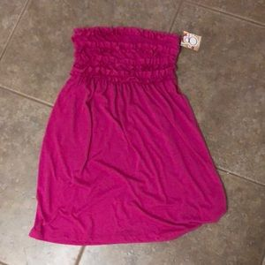 NWT OP pink coverup